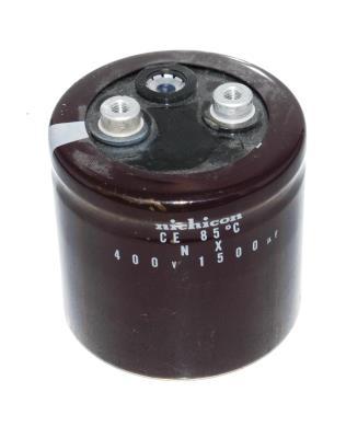 New Refurbished Exchange Repair  Nichicon Capacitors CAP-400V-1500UF-62-65-28 Precision Zone