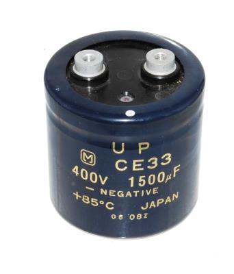 Matsushita CAP-400V-1500UF-65-65-28 front image