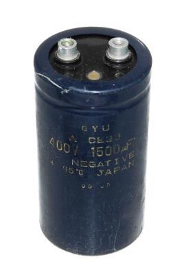 Matsushita CAP-400V-1500UF-96-51-22 front image