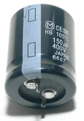 Matsushita CAP-400V-150UF-31-25-8 front image