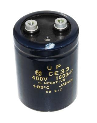 Matsushita CAP-400V-1800UF-84-65-28 front image