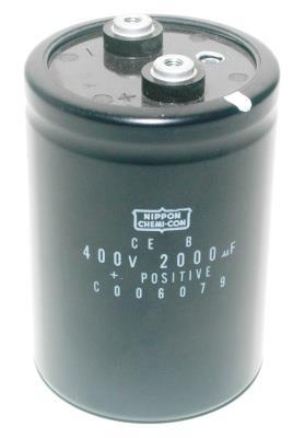 Nippon Co CAP-400V-2000UF-90-65-28 front image