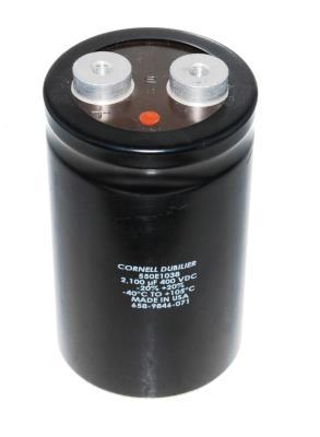Cornell Dubilier CAP-400V-2100UF-105-64-30