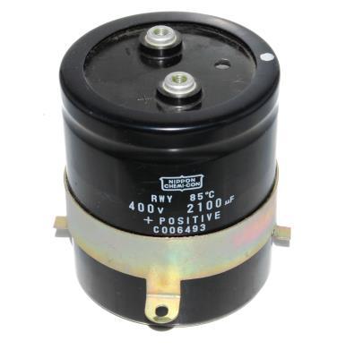 Nippon Co CAP-400V-2100UF-91-77-32 front image