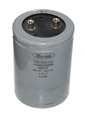 MARCON CAP-400V-2200UF-111-78-32