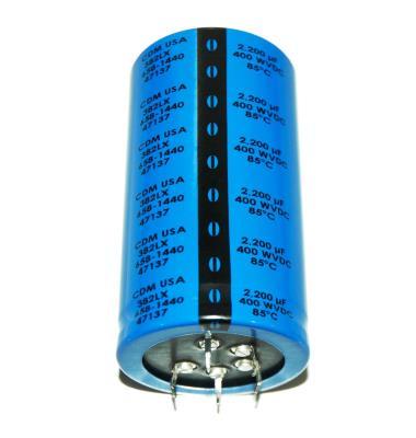 Cornell Dubilier CAP-400V-2200UF-98-50-15 front image