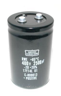 Nippon Co CAP-400V-2500UF-120.5-78-32 front image