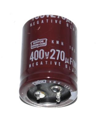 Nippon Co CAP-400V-270UF-45-30-9 front image