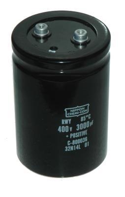 Nippon Co CAP-400V-3000UF-115-77-32 front image