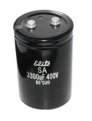 Elite CAP-400V-3300UF-122-78-32 front image