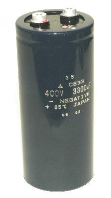 Matsushita CAP-400V-3300UF-144-64-28 front image