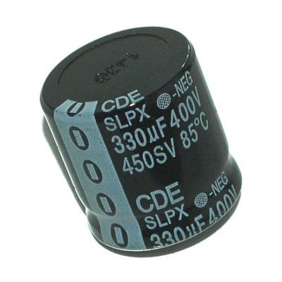 Cornell Dubilier CAP-400V-330UF-30-30-10 image