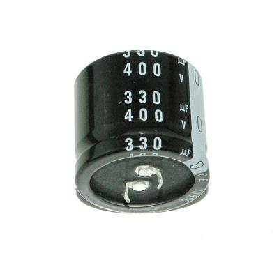 Nichicon CAP-400V-330UF-35-35-9 front image