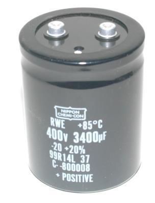 Nippon Co CAP-400V-3400UF-97-77-27 front image