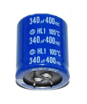 Hitachi, Ltd CAP-400V-340UF-45-35-9