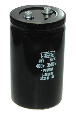 Nippon Co CAP-400V-3500UF-130-75-31 front image