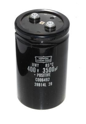 Nippon Co CAP-400V-3500UF-135-78-32 front image