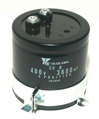 Yaskawa CAP-400V-3600UF-80-80-22
