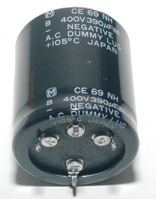 Matsushita CAP-400V-390UF-40-35-25 front image