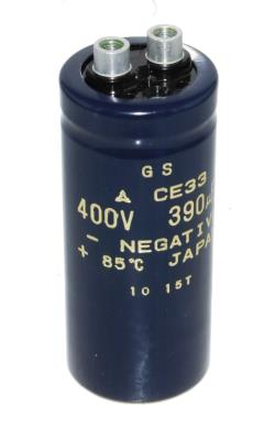 New Refurbished Exchange Repair  Matsushita Capacitors CAP-400V-390UF-92-36-13 Precision Zone