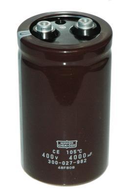 Nippon Co CAP-400V-4000UF-108-65-28 front image