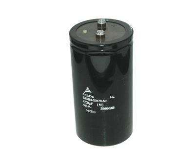 New Refurbished Exchange Repair  EPCOS Capacitors CAP-400V-4700UF-143-76-32 Precision Zone