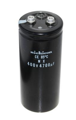 New Refurbished Exchange Repair  Nichicon Capacitors CAP-400V-4700UF-152-65-28 Precision Zone