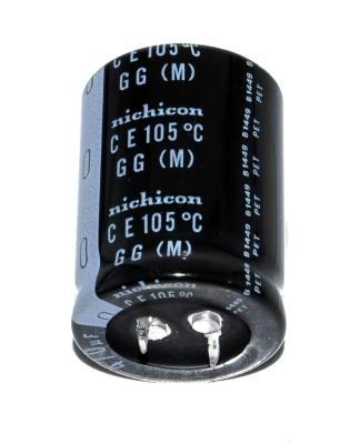 Nichicon CAP-400V-470UF-40-30-9 front image