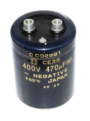 Matsushita CAP-400V-470UF-66-52-22 front image
