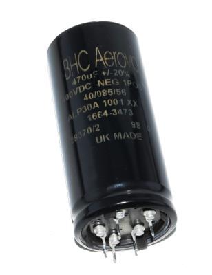 Aerovox CAP-400V-470UF-94-41-13 front image
