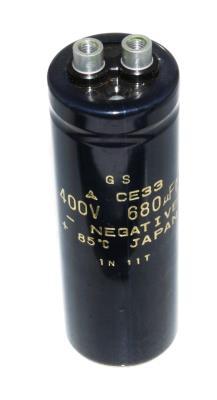 New Refurbished Exchange Repair  Matsushita Capacitors CAP-400V-680UF-104-36-13 Precision Zone