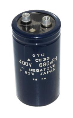 Matsushita CAP-400V-680UF-104-52-22 front image