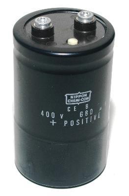 Nippon Co CAP-400V-680UF-88-51-21 front image