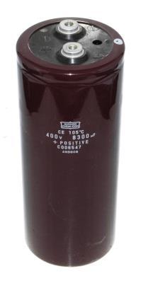 Nippon Co CAP-400V-8300UF-192-77-32 front image