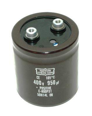 Nippon Co CAP-400V-950UF-72-65-28 front image