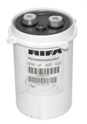 RIFA CAP-420V-2000UF-110-67-28 front image