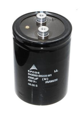 EPCOS CAP-450V-2200UF-106-76-32 front image