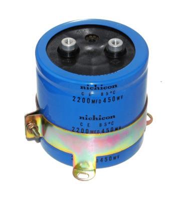 Nichicon CAP-450V-2200UF-77-77-32 front image