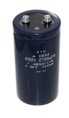 Matsushita CAP-450V-2700UF-131-65-28 front image