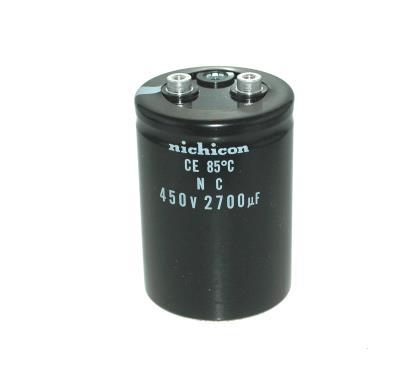 New Refurbished Exchange Repair  Nichicon Capacitors CAP-450V-2700UF-90-63.5-28 Precision Zone