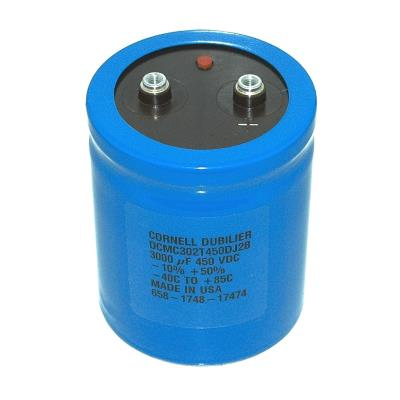 New Refurbished Exchange Repair  Cornell Dubilier Capacitors CAP-450V-3000UF-93-76-31.75 Precision Zone