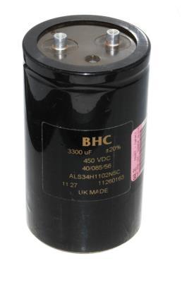 BHC CAP-450V-3300UF-130-76-32 front image