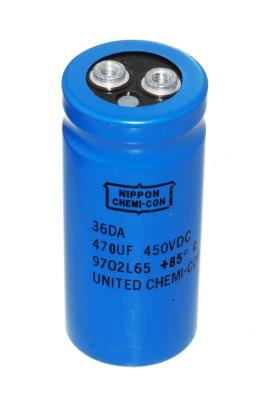 Nippon Co CAP-450V-470UF-80-35.5-12 front image