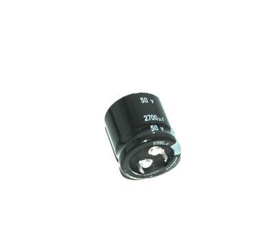 Nichicon CAP-50V-2700UF-25-25-10 front image