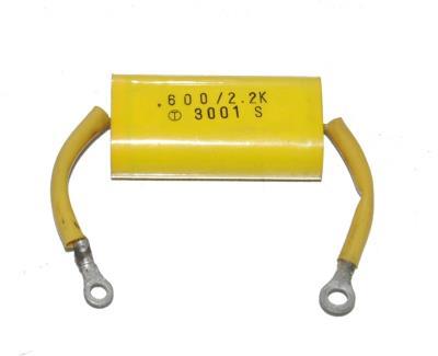 Toshiba CAP-600V-2.2KUF-48-16-26 front image