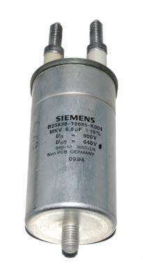Siemens CAP-640V-6.8UF-190-60-34 front image