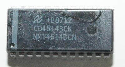 National Semiconductor CD4514BCN