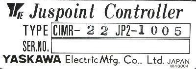 Yaskawa CIMR-22JP2-1005 label image