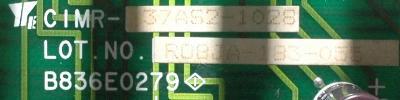 Yaskawa CIMR-37AS2-1028 label image