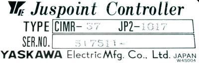 Yaskawa CIMR-37JP2-1017 label image